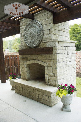 Custom Fire Pits & Fireplaces by Red Valley Landscape & Construction in Lago Vista, Texas