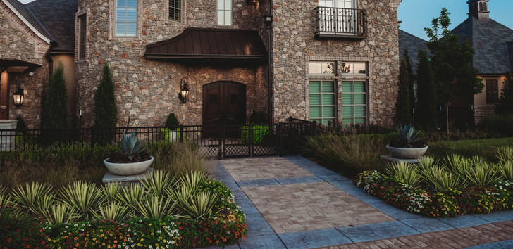 Landscape Design & Installation by Red Valley Landscape & Construction Edmond, Oklahoma