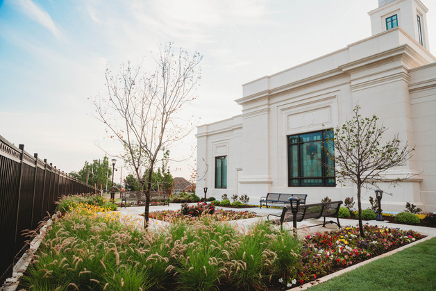 Commercial Landscape Design & Installation by Red Valley Landscape & Construction in Yukon, Ok