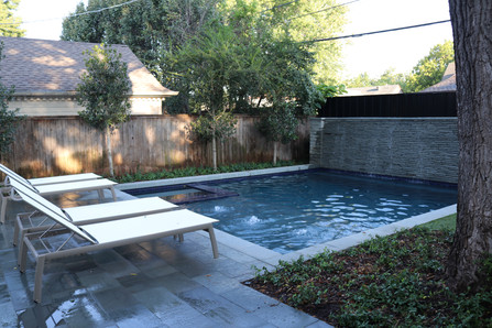 Custom Swimming Pools, Spas, and Wate Features by Red Valley Landscape & Construction located in Oklahoma