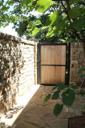Custom Fences & Trellis by Red Valley Landscape & Construction in Moore, Ok