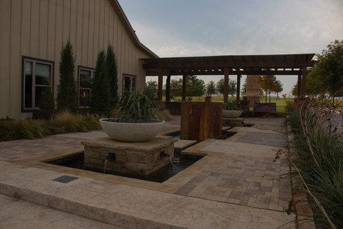 Custom Patios & Pavers by Red Valley Landscape & Construction in Lost Creek, Texas