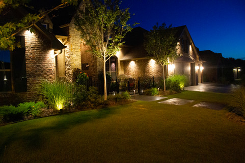 Landscape Lighting by Red Valley Landscape & Construction in North Austin, Texas