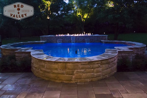 Custom Stonework & Masonry by Red Valley Landscape & Construction in Marble Falls, Texas