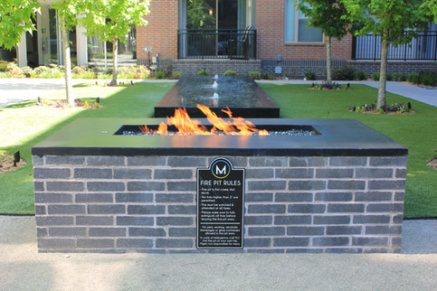 Custom Fire Pits & Fireplaces by Red Valley Landscape & Construction in ATX