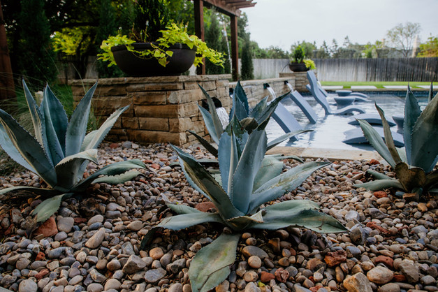 Landscape Design & Installation by Red Valley Landscape & Construction in Marble Falls