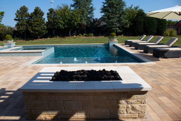 Custom Stonework & Masonry by Red Valley Landscape & Construction in Cedar Park, T
