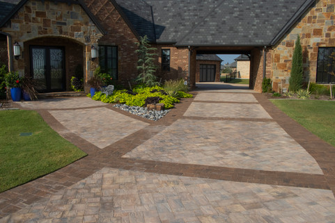 Custom Patios & Pavers by Red Valley Landscape & Construction in Round Rock, Texas