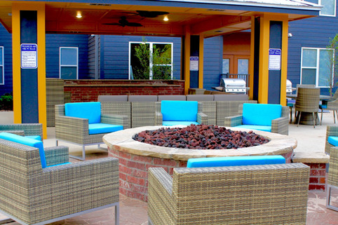 Custom Fire Pits & Fireplaces by Red Valley Landscape & Construction in Stillwater, Ok