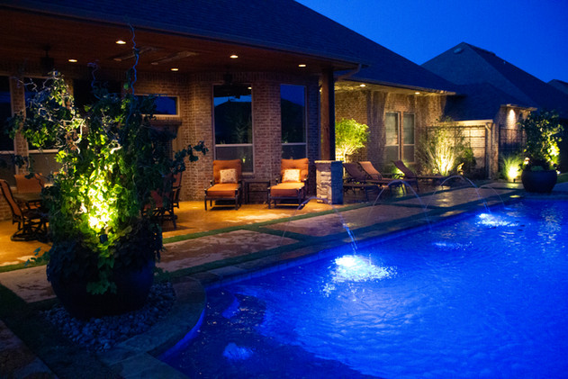 Landscape Lighting by Red Valley Landscape & Construction in Lakeway Texas