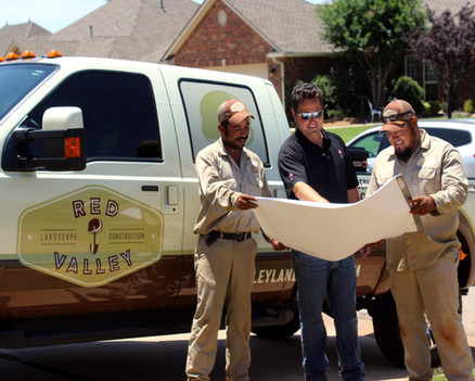 Commercial Irrigation & Drainage by Red Valley Landscape & Construction in Austin, Texas
