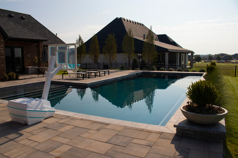 Custom Pools & Spas by Red Valley Landscape & Construction in Georgetown, Texas