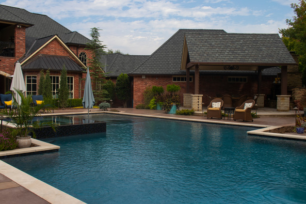 Custom Pools & Spas by Red Valley Landscape & Construction in Round Rock, Texas