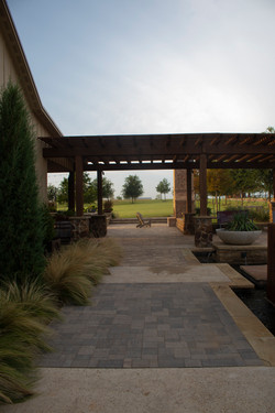 Custom Patios & Pavers by Red Valley Landscape & Construction in North Austin
