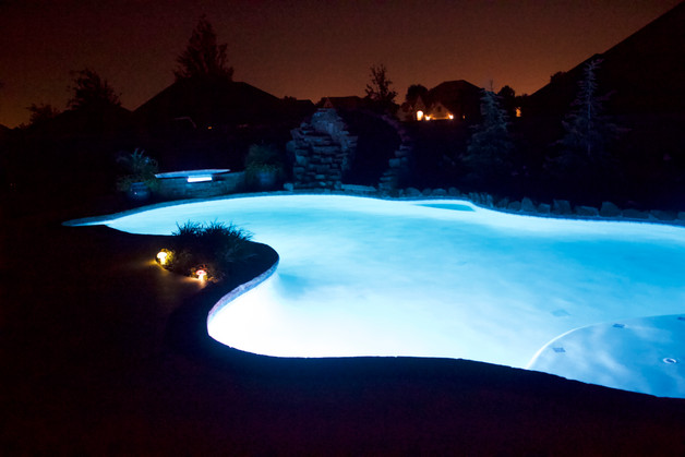 Custom Pools & Spas by Red Valley Landscape & Construction in Norman, Ok