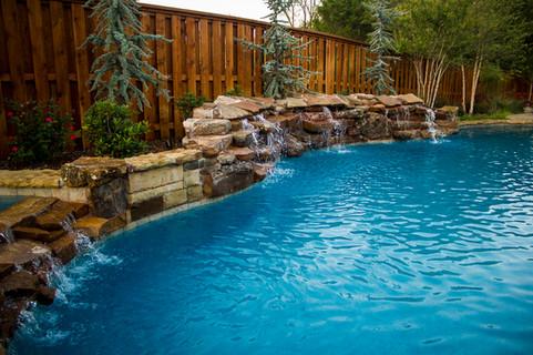 Custom Pools & Spas by Red Valley Landscape & Construction in Volente, Texas