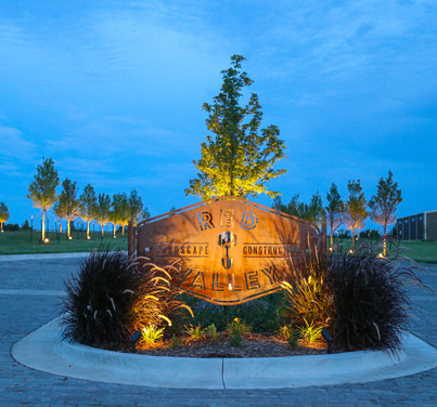 Residential Landscape by Red Valley Landscape & Construction located in Edmond, Oklahoma