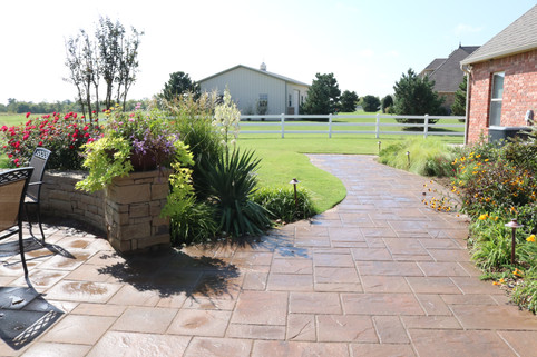 Custom Patios & Pavers by Red Valley Landscape & Construction in Norman