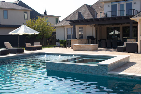 Custom Pools, Spas, and Wate Features by Red Valley Landscape & Construction located in Austin, Texas