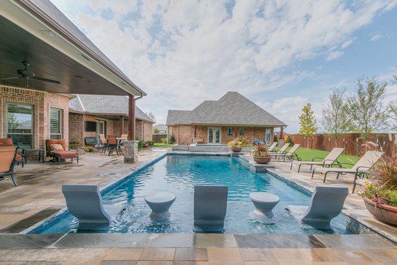 Custom Pools & Spas by Red Valley Landscape & Construction in West Lake Hills, Texas