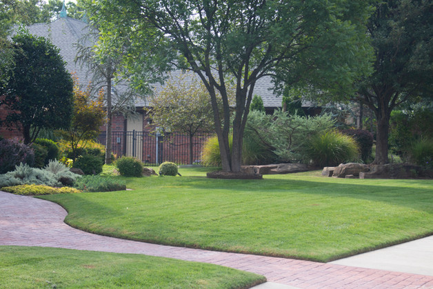 Residential Landscape Maintenance by Red Valley Landscape & Construction in OKC, Ok