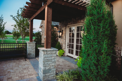 Custom Arbors & Pavilions by Red Valley Landscape & Construction in Barton Creek, Texas