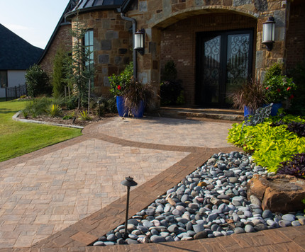 Custom Patios & Pavers by Red Valley Landscape & Construction in North Austin, Texas