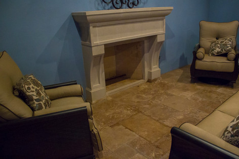 Custom Fire Pits & Fireplaces by Red Valley Landscape & Construction in Guthrie, Ok