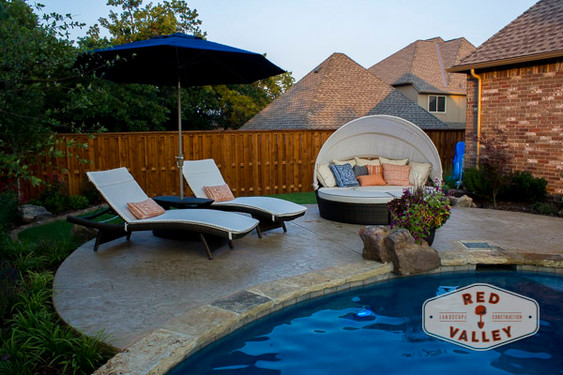 Custom Stonework & Masonry by Red Valley Landscape & Construction in Georgetown, Texas