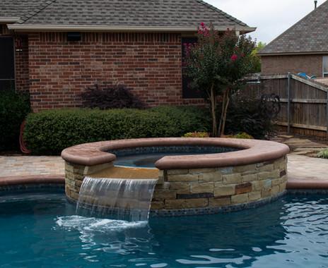Custom Pools & Spas by Red Valley Landscape & Construction in Cedar Park, Texas