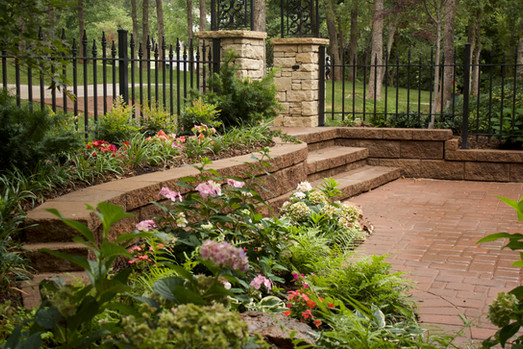 Landscape Design & Installation by Red Valley Landscape & Construction in Norman Oklahoma