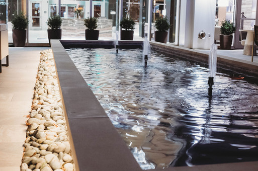 Custom Commercial Pools & Spas by Red Valley Landscape & Construction in Oklahoma in ATX