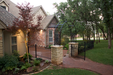 Custom Fences & Trellis by Red Valley Landscape & Construction in Jones, Ok