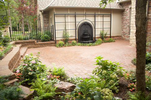 Landscape Design & Installation by Red Valley Landscape & Construction in Oklahoma