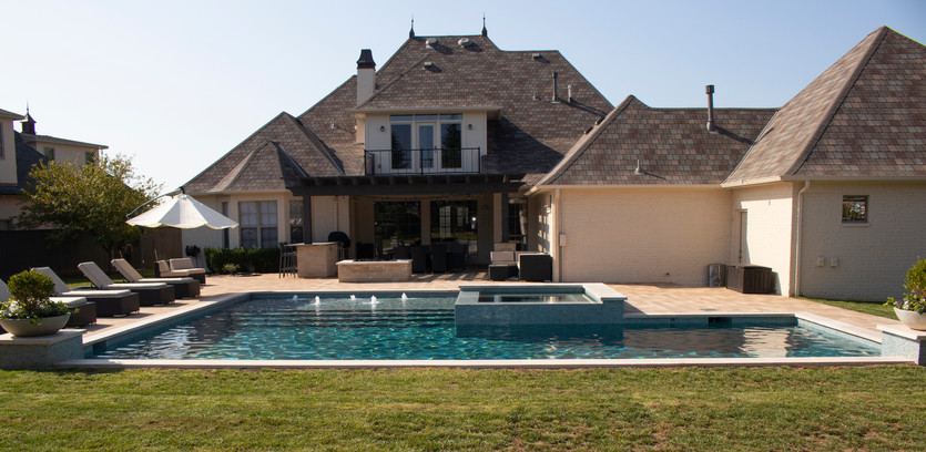 Custom Pools & Spas by Red Valley Landscape & Construction in Austin, Texas
