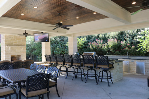 Custom Arbors & Pavilions by Red Valley Landscape & Construction in Lake Travis, Texas