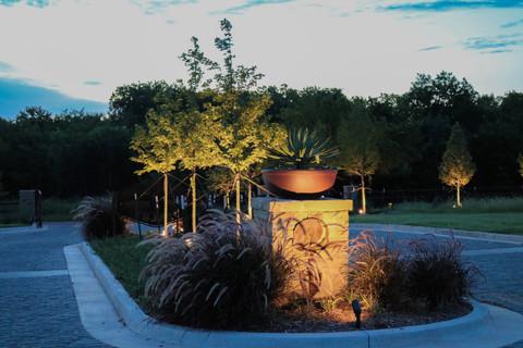 Landscape Lighting by Red Valley Landscape & Construction in Cedar Park Texas