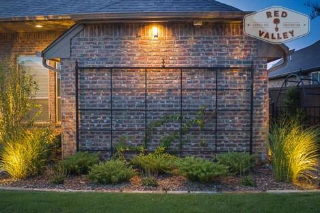 Custom Fences & Trellis by Red Valley Landscape & Construction in Barton Creek, Texas