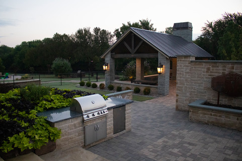Landscape Lighting by Red Valley Landscape & Construction in Round Rock, Texas
