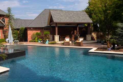 Custom Arbors & Pavilions by Red Valley Landscape & Construction in Marble Falls, Texas