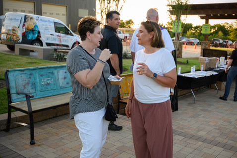"""Annual """"Let's Eat"""" charity event by Red Valley Landscape & Construction in Edmond, Ok"""