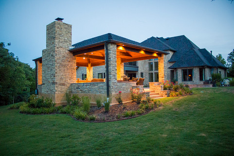 Landscape Lighting by Red Valley Landscape & Construction in Lakeway, Texas