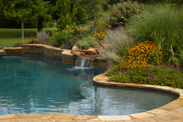 Landscape Design & Installation by Red Valley Landscape & Construction in Marble Falls, TX