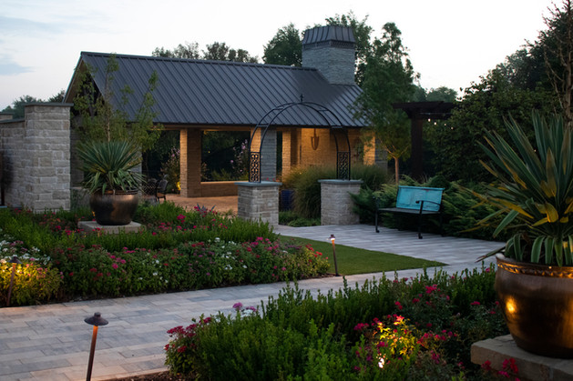 Landscape Lighting by Red Valley Landscape & Construction