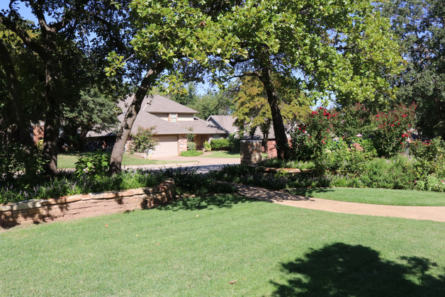 Residential Landscape Maintenance by Red Valley Landscape & Construction in OKC