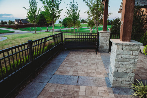 Custom Fences & Trellis by Red Valley Landscape & Construction in Oklahoma City