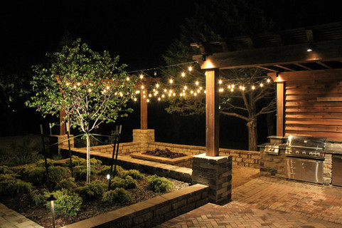 Landscape Lighting by Red Valley Landscape & Construction in Lake Travis