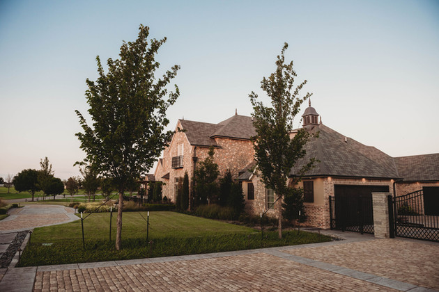 Landscape Design & Installation by Red Valley Landscape & Construction in Briarcliff, TX