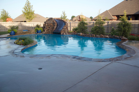 Custom Pools & Spas by Red Valley Landscape & Construction in Marshall Ford, Texas
