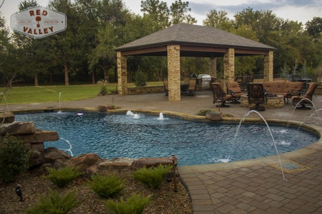 Custom Arbors & Pavilions by Red Valley Landscape & Construction in Lago Vista, Texas